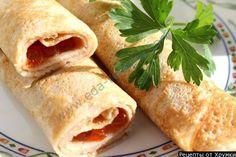 Эта закуска праздничная. Красивая, эффектная и необыкновенно вкусная!