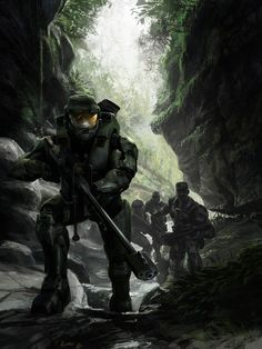Halo 3 Manual cover 1 by Isaac Hannaford on ArtStation. Halo 3, Halo Game, Halo Reach, Halo Armor, Halo Master Chief, Halo Collection, Halo Series, Pokemon, Video Game Art