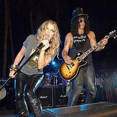 ROCKER CHIC photo | Fergie, Slash