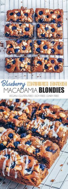 Blueberry White Chocolate Macadamia Blondies (Vegan & Gluten-free) Brownies are usually my go to dessert of choice. I've made and eaten my fair share of all kinds of different types of brownies. What I've neglected in the…