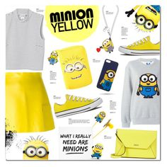 """Minion Fashion"" by justlovedesign ❤ liked on Polyvore"