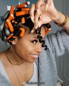 Protective Hairstyles For Natural Hair, Natural Hair Updo, Natural Hair Care, Natural Hair Styles, Short Hair Styles, Straw Set Natural Hair, Twist Braid Hairstyles, My Hairstyle, Curled Hairstyles