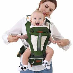 รีบเป็นเจ้าของ  เด็กผู้มัลติฟังก์ชั่นมีสะโพกที่นั่งสำหรับเด็กทั้งหมดกระเป๋าเป้สะพายฤดูกาล(สีเขียว)&  ราคาเพียง  1,499 บาท  เท่านั้น คุณสมบัติ มีดังนี้ Material: Internal lining in breathablefabric. Baby is ergonomically cradled in a natural sittingposition. Large zippered storage pocket, plus easy-reach pocket forstoring hood and essentials. The light-reflective band keep light in dark when auto vechilegoing by Very comfortable – Very light material but very strong. So itis a very safe baby carr Baby Backpack, Sling Backpack, Sling Bags, Kangaroo Baby, Ergonomic Baby Carrier, Light In, Baby Sling, Baby Wraps, Baby Gear