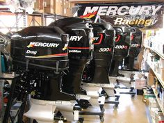 Wish this were my garage! Fishing Tackle Box, Bass Fishing, Lake Boats, Inflatable Boats, Wakeboard Boats, Center Console Boats, Mercury Marine, Boat Wraps, Boat Engine