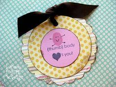 """Valentine Idea: """"Thumb"""" body loves you!"""