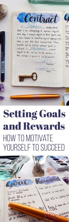 Setting goals is easy, but it's much harder to accomplish those goals. There are lots of methods for going about this task, but I have always found that one simply needs the proper motivation. That's why I set goals and rewards! Here's how I use this simple trick to push myself toward success.