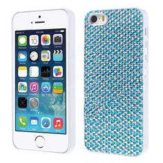 Glam up your iPhone 5 5s with this stunning bling designer back case cover for your next party and watch heads turn!