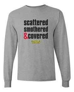 Pink Warrior Breast Cancer T-shirt Waffle House, Custom Made Shirts, Unisex Fashion, Graphic Sweatshirt, T Shirt, Cotton Tee, Breast Cancer, Funny Shirts, Long Sleeve Shirts