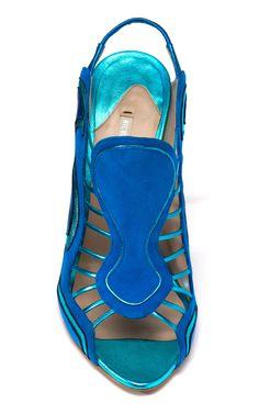 Shop Nicholas Kirkwood Strappy Slingback Sandal at Moda Operandi