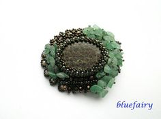 bluefairy art: Fimbrethil. Broszka. One of my brooches.