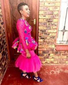 Tsonga Traditional Dresses, Traditional Wedding Dresses, African Traditional Wear, Tutu, Harajuku, Weeding, Pink Yellow, My Style, Videos