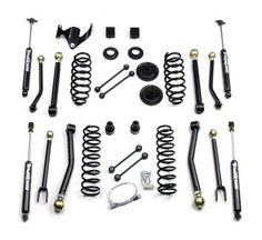 Teraflex 3 in. Wrangler Lift Kit w/Full FlexArm System, Shocks 1451300 (07-16 Wrangler JK) - Free Shipping