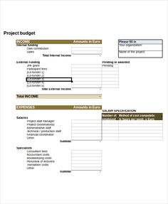 Home Budget Template Format  Simple Personal Budget Template
