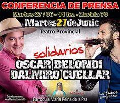 Mar 27/Jun - 11hs Conferencia de Prensa #TeatroProvincialDeSalta  #Salta #Agenda #Evento #Prensa #Noticia #Medios #Compartir #Teatro #Musica #Espectaculo #Show #Entretenimiento #Cultura #LaRepandilla #OscarBelondi #DalmiroCuellar #Parroquia #PasaLaData #QueHacemosSalta Toda la info que necesitas la podes encontrar aquí  http://quehacemossalta.com/