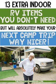 Would you like to go camping? If you would, you may be interested in turning your next camping adventure into a camping vacation. Camping vacations are fun and exciting, whether you choose to go . Travel Trailer Camping, Rv Camping Tips, Camping Supplies, Camping Car, Camping Essentials, Camping Items, Camping List, Rv Travel, Travel Trailers