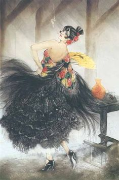 Louis Icart - Carmen (1927)