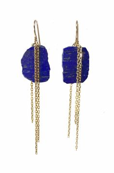 Spark Lapis Earrings