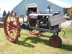 1936 Farmall F-12 Tractor    https://www.youtube.com/user/Viewwithme