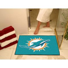 Miami Dolphins NFL All-Star Floor Mat (34x45)