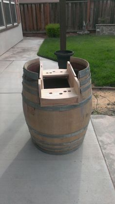 Wine Barrel Cocktail arcade