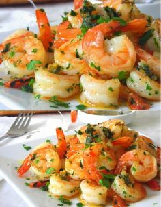 One-Pan Salmon Vegetarian Recipe – Jungle Recipe Shrimp Dishes, Shrimp Recipes, Meat Recipes, Vegetarian Recipes, Cooking Recipes, Healthy Recipes, Veggie Dinner, Fish Dinner, Pan Fried Shrimp