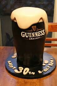 I will have a cold Pint with my Pint of cake please