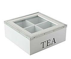 """Pudełko z przegródkami """"Terina"""", białe"""
