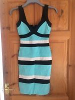 Jane Norman Turquoise Dress Size 10