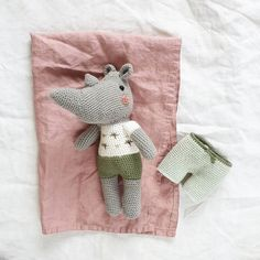 This adorable little rhino was crocheted by @petitebicherose using DMC Happy Cotton. Dmc Embroidery Floss, Embroidery Designs, Pattern Design, Free Pattern, Flamingo Pattern, Stationery Design, Color Card, Baby Bibs, Wool Yarn