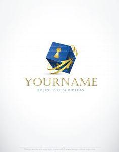 Exclusive Design: Key lock online Logo   FREE Business Card