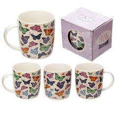 Butterfly Cascade Mug