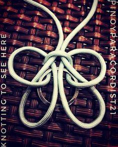 21 отметок «Нравится», 2 комментариев — dect21 (@pinoyparacordist21) в Instagram: «Butterfly knot?»