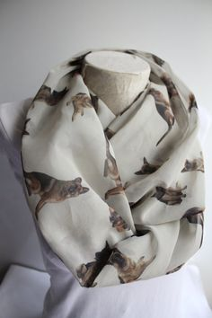 German Shepherd Scarf German Shepherd Infinity Scarf Dog  Scarf Circle Scarf Animal ScarfWomen Accessories Gift İdeas for Her by dreamexpress from dreamexpress on Etsy. Find it now at http://ift.tt/1OxAbOK!