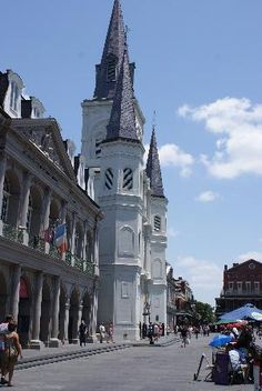 New Orleans...The Cathedral at Jackson Square.  Lived here for 10 years.  My favorite city.