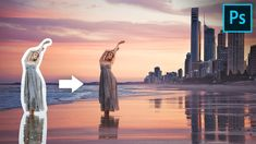 Easily Blend Subject & Reflections Using Blend Modes in Photoshop