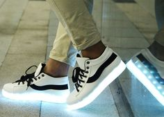 LED SHOES 2016 emitting luminous casual shoes men women couple LED lights chaussure a led unisexe usb Charging shoes flat shoes Light Up Sneakers, Light Up Shoes, Lit Shoes, Casual Sneakers, Sneakers Fashion, Casual Shoes, Men's Shoes, Fashion Shoes, Men Casual