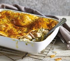 Prepared Chicken, Ham And Leek Pie - Frozen Ready Meal For 1 and 2 | COOK