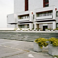 EASTMODERN Architecture of the 1960s and 1970s in Eastern Europe National Archives, Bratislava, Travelogue, Eastern Europe, 1970s, Stairs, Mansions, Country, Architecture