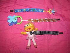 Baby Pacifier Clip or Toy Holder
