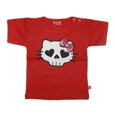 """Original T-shirt for baby and kid """"Hell Kitty"""" by Stardust"""