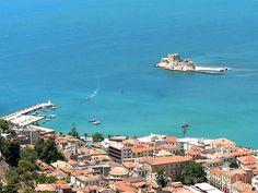 Nafplio Town  Greece (Nauplia) by Ioannis Baharouris