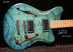 Till Guitars no 177 Midnight Blues, $2499.00