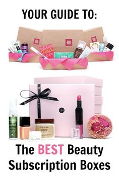 The best beauty subscription boxes out there