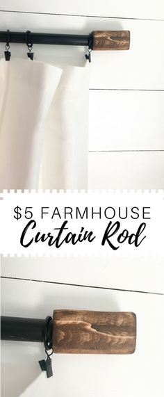 Lightweight and inexpensive curtain rod designed for an rv but would be gorgeous in a home as well. So beautiful and so rustic! (How To Make Curtains For Rv) Ikea Curtain Rods, Rustic Curtain Rods, Farmhouse Curtain Rods, Industrial Curtain Rod, Farmhouse Curtains, Rustic Curtains, Decorative Curtain Rods, Elegant Curtains, Vintage Curtains