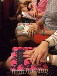 Lilly planners. TSM.