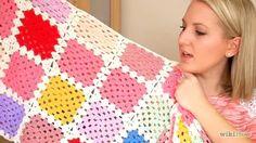 Imagem intitulada Crochet a Granny Square Step 1