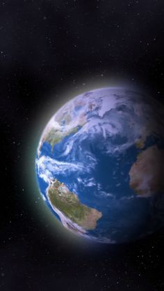 The trees grow in cities, the oceans meet at the cape. All the pieces interact, enveloped by the space inside. But not all is lost. Outer Space Facts, Planet Earth From Space, Earth Space, Earth Gif, Earth Video, Digital Foto, All Is Lost, Space Photos, Space And Astronomy