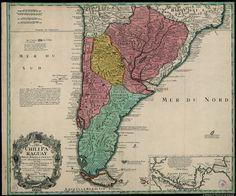 Chile. Mapas generales. 1733
