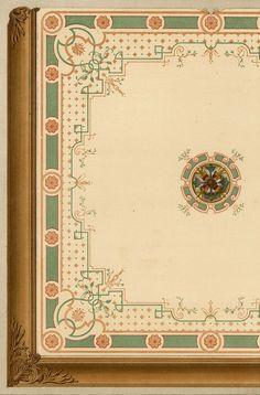 Paris ecuries Plafond Hotel Artois Architecture César Daly lithographie XIXe