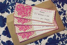 Free Mother's Day Voucher Printables